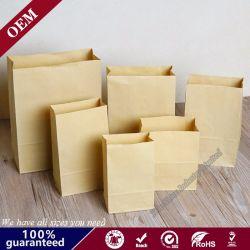 High Quality Eco Friendly Fast Food Kraft Printing Bakery Paper Bag