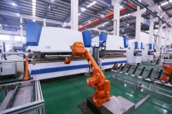 ABB Robotic Arms for Elevator Door Production Line