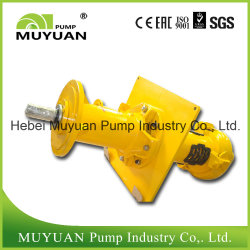 Motor Drive Waste Water Handling Vertical Slurry Pump