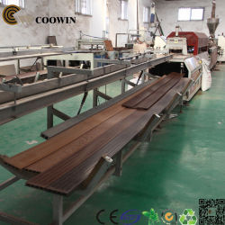 Factory Supply Wood WPC PVC PE Profile Extrusion Line