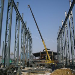 Prefabricated Structural Steel Building with Large Span