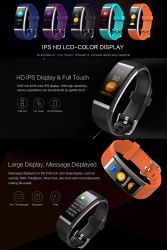 Chinese Factory Color Screen Sport Waterproof Smart Watch with Heart Rate/Sleep Monitoring/Pedometer/Sedentary Reminder/Blood Pressure