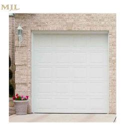 Exterior Aluminum Transparent Security Sectional Garage Door