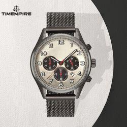 Mens Chronograph Watch Manufacturer Price of Western Steel Quartz Watches (72401)