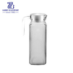 2abb0c3a822 1L Engraved Water Glass Pitcher  Glass Jug (GB1102ZS)