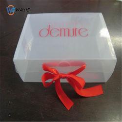 Custom Logo Foldable PP PVC Pet Plastic Printing Underwear Woman Sport Bra Gift Packaging Box