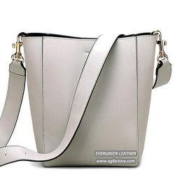 Fashion Designer Lady Tote Handbag Big Soft Women Leather Bag Wholesale in China Emg5328