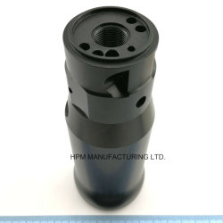 CNC Machining Steel Casing Sleeve Front Head Shaft Case with Black Oxidized or Nitro Carburized for Industry Pneumatic Tools