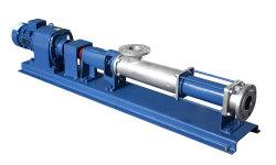 Self Priming Sludge Slurry Transfer Pumps Helical Mono Screw Pump