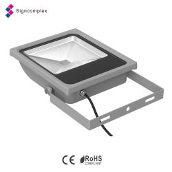 Industry Energy-Saving Waterproof IP65 Slim COB LED Flood Light RGB