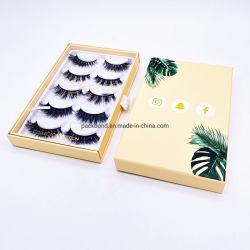 3D Mink Effect False Eyelash 3D Mink Eyelashes with Custom Packaging