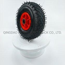 10 Inch Plastic or Metal Rim Peneumatic Air Rubber Wheel Trlloy Wheel
