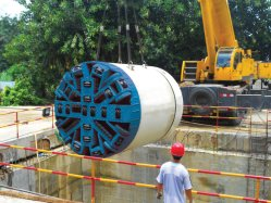 Irrigation System with Npd1000 Pipe Jacking Machine for Criteria Pipeline