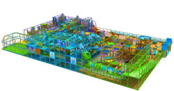 Large Indoor Playground Equipment for Play Centre