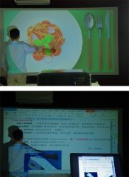 Hot WiFi Projector 1080P Full HD Video TV Villages Projector for The Poor