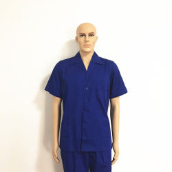 Cotton Print Low Formaldehyde Breathable Protective Workwear