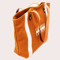 Factory Wholesale Printed Sports High Quality Canvas Tote Bags for Women