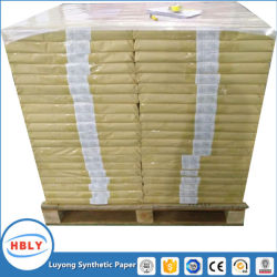 China Wood Pulp Free Tear Resistant Waterproof PP Synthetic Paper