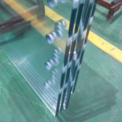 Low Iron Bent or Flat Tempered Glass Panels for Buildings