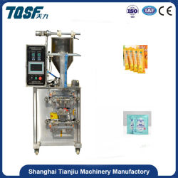 Shanghai Manufacture Tj-280j Automatic Sachet Paste Filling and Packing Machine