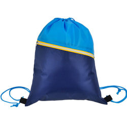 Ripstop Polyester Drawstring Backpack Bag for Gift/Beach/Sports