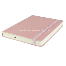 Personalized Elastic Band PU Notebook A5 Leather Diary Printing