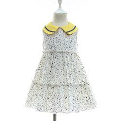 744526218dd New 2019 Spring Summer Lovely 100% Cotton Polka Dots Sleevless Dress for  Children Girl
