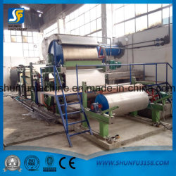 Factory Sale Low Price Tissue Paper Production Line/ Small Toilet Paper Making Machine for Sale