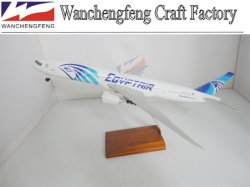 Egypt Air B777-300 Plane Model with Landing Gears