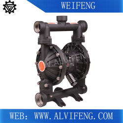 PP/Aluminium/Stainless Steel Pneumaticdouble Diaphragm Pump, Membrane Pump, Slurry Pump, Chemical Pump