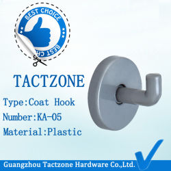 Wholesale Modern Factory Directly Toilet Fitting Cloth Plastic Furniture Hook