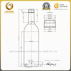 Empty High Quality Custom Glass Bottle in Stock (1074)