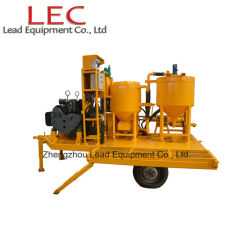 Truck-Mounted Diesel Engine Drive Grout Equipment to Thailand