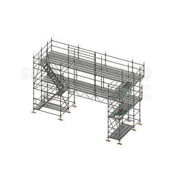 Ringlock Modular System Scaffold HDG Galvanizing Scaffolding Frame