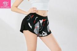 Yoga Short Leggings High Waist Gym Running Fitness Workout Yoga Women Sports Shorts Legging Biker Shorts