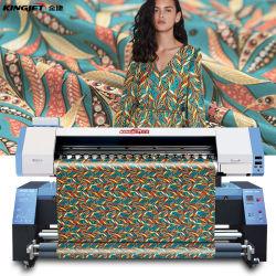 Kingjet Direct Digital Textile Flex Printing Machine Flag Banner Polyester Nylon Fabric Printer Inkjet Dye Sublimation Printer