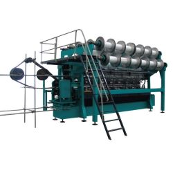 Double Needle Bar Sport Net Knitting Machine