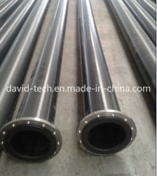 Plastic Pipeline Flange Connection Mining Sand Use UHMWPE Pipe