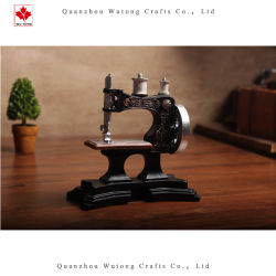 Wholesale Resin Cartoon Ancient Sewing Machine Home Decor Gifts