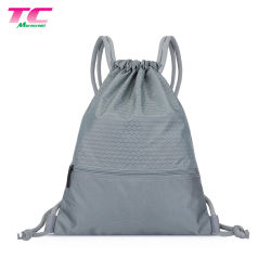 Wholesale Hiking Outdoor Sports Travel Polyester Drawstring Backpack Bag