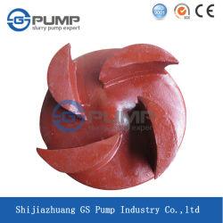 High Chromium Rubber Material Slurry Pump Spare Parts Impeller
