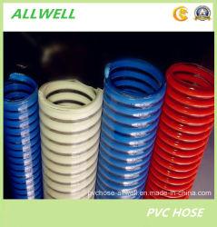 PVC Plastic Suction Reinforced Spiral Hose Water Pipe Garden Dredging Slurry Hose