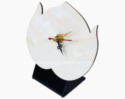 200*150 mm MDF Sublimation Clock with Stand