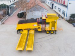 Alluvial Sand Gold Diamond Mining Washing Rotary Scrubber Trommel