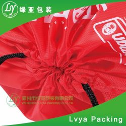 Advertising Promotional Polyester Nylon Sports Gym Drawstring Backpack Bag