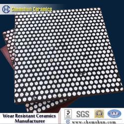 Impact Resistant Composite Rubber Ceramic Wear Liner