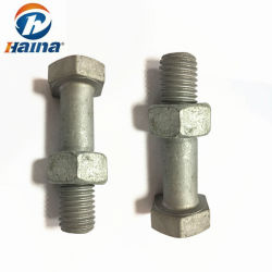 ASTM A325 A325m A490 A490m Grade 5 8 DIN6914 8.8 10.9 Grade HDG Structural Heavy Hex Bolts and Nuts