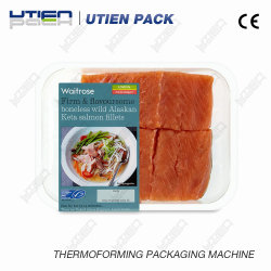 Sea Food Automatic Thermoforming Vacuum Skin Packaging Machine (VSP)
