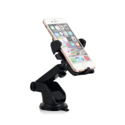 Universal 360 Rotation Car Windshield Mount Auto Lock Phone Holder