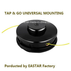 Semi-Automatic Tap & Go Universal Mounting Trimmer Head
